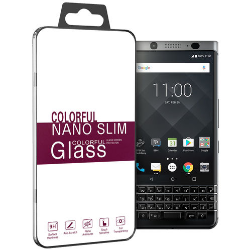 9H Tempered Glass Screen Protector for BlackBerry KEYone - Clear